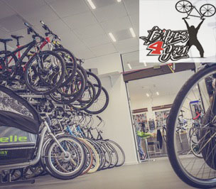 Develop and design a website for Bikes4you.eu